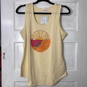 Large LuLaRoe tank top